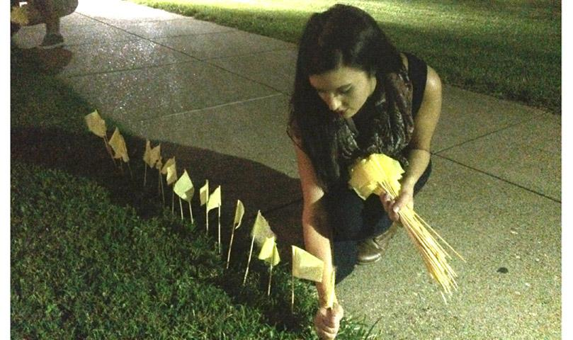 Suicide awareness vigil scheduled for tonight