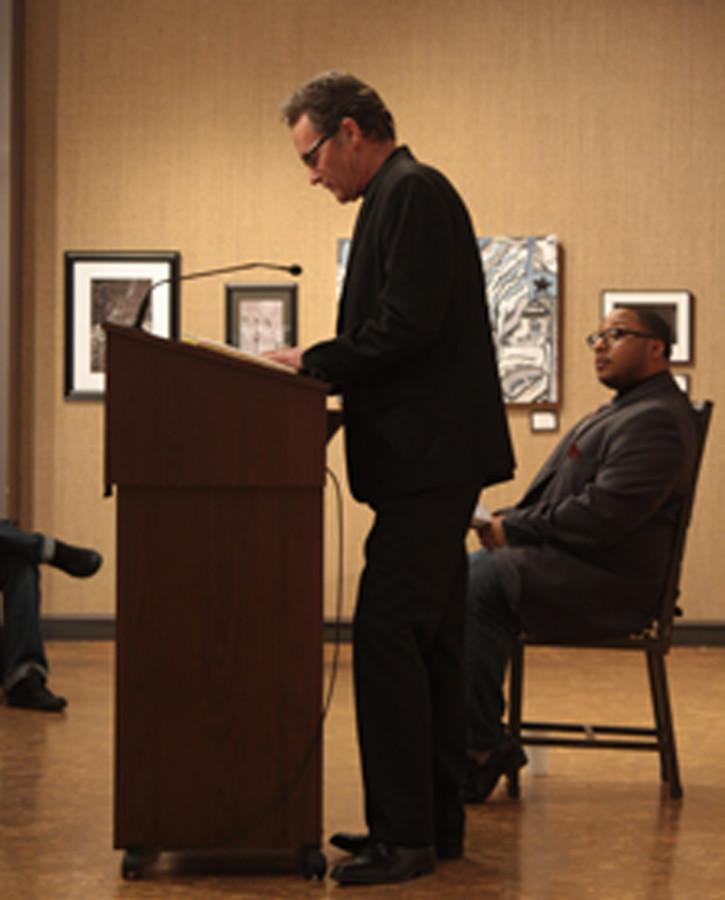 Poetry bout puts two writers in battle of words