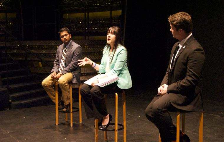 VIDEO: 2015 SGA Presidential Debate