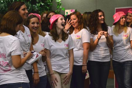 Sorority recruitment attracts 250 women