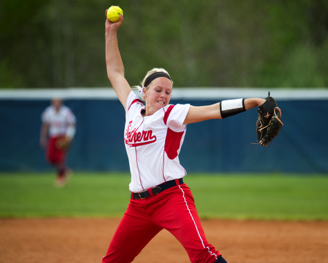 Softball's offense stalls against Quincy