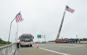 GALLERY: Flag flies high on Sept. 11