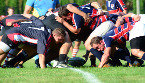 Rugby team places second at Oak Leaf Tournament