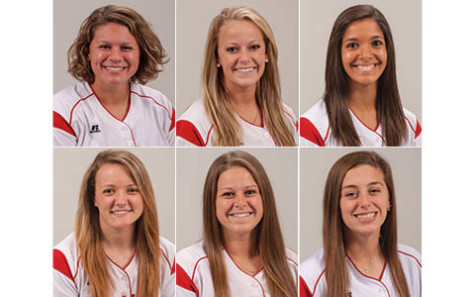 Scholastic success for softballers