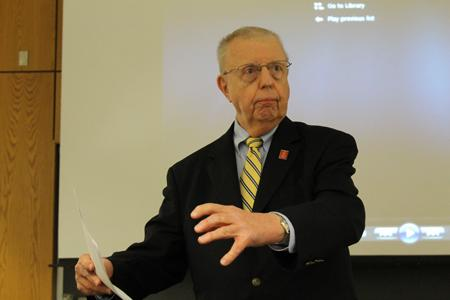 Lukens reflects on time with President Ford